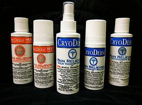 CryoDerm products