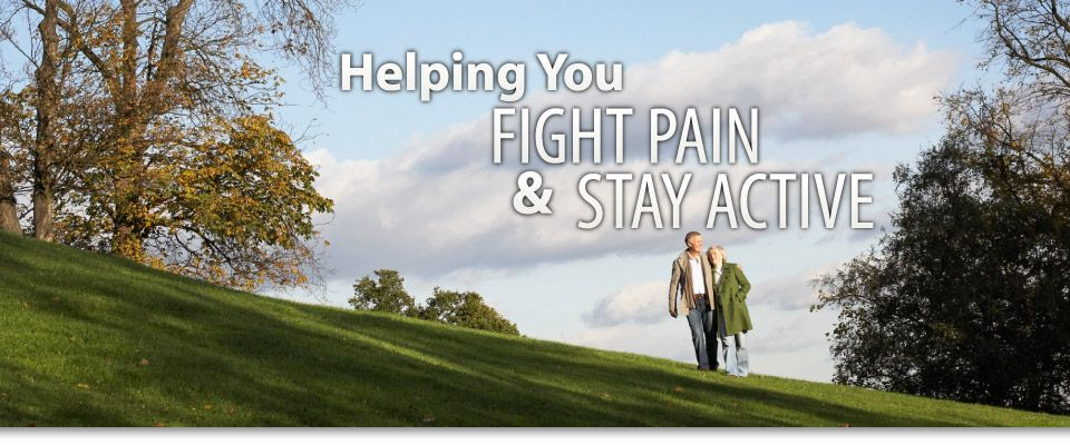 Helping You Stay Active & Fight Pain | couple walking in wilderness