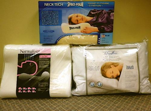 Orthotic pillows